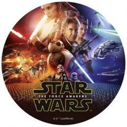 Disque Comestible de Star Wars