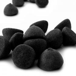 Achat de Marshmallow Boule Noir pas cher