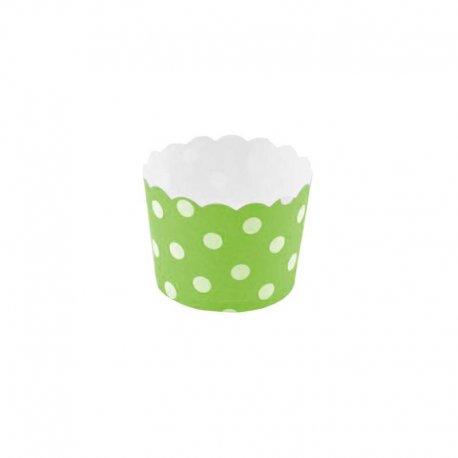 Moules à Cupcakes Motif Pois