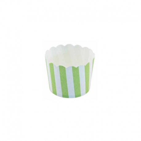 Moules à Cupcakes Motif Rayures