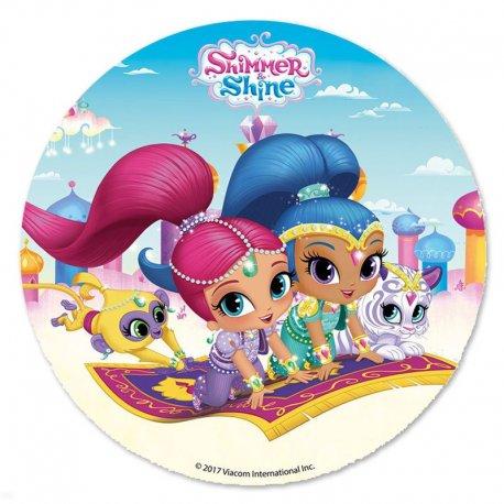 Disque de Sucre Shimmer and Shine