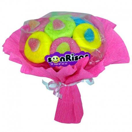 Mini Bouquet de Fleurs de Bonbons