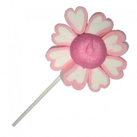 Sucette Fleur Rose