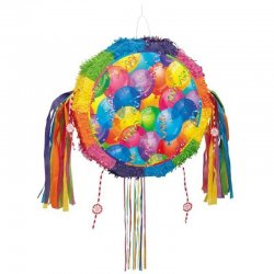 Piñata avec des Ballons
