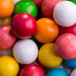 Boules de Chewing-gum Fini
