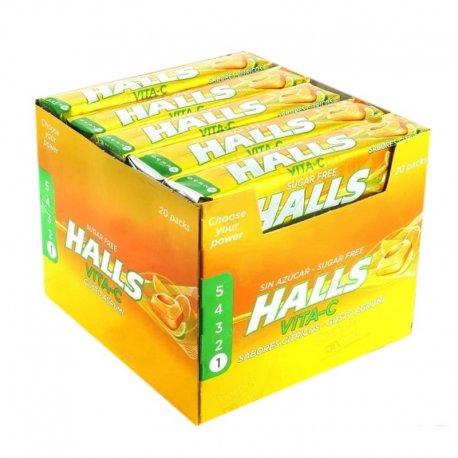 Halls Acide Sans Sucre