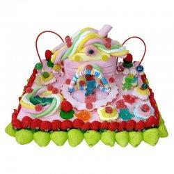 Gâteau de Bonbons Maison et Jardin 900 G