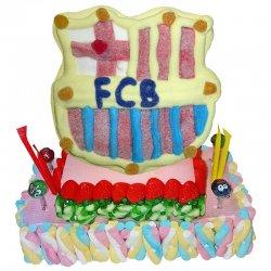 Gâteau de Bonbons FC Barcelona 800 G