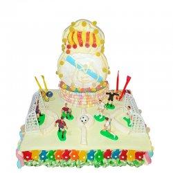 Gâteau de Bonbons Terrain Réal Madrid 1,180 Kg