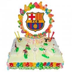 Gâteau de Bonbons Terrain FC Barcelone 1,180 Kg