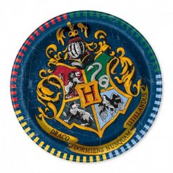 8 Assiettes De Harry Potter 23 cm