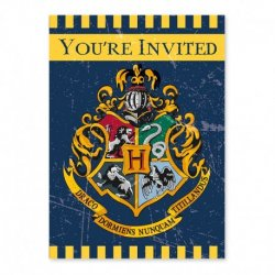 8 Invitations De Harry Potter