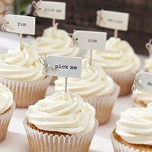 Toppers pour Cupcakes