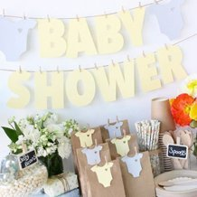 Fanions Baby Shower
