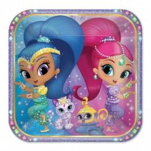 Cumpleaños Shimmer And Shine